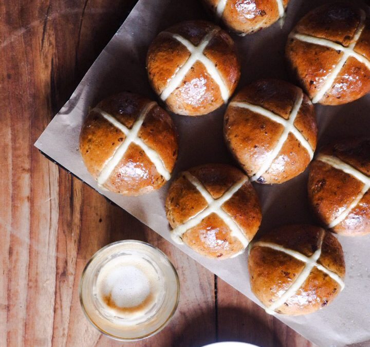 HOT CROSS BUNS EASTER SPECIAL