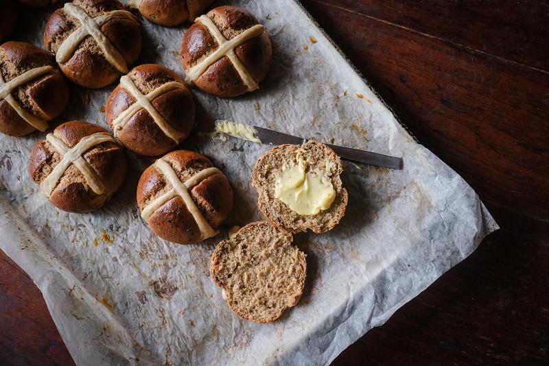 Hot cross buns in ubud